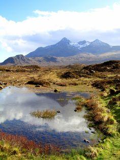 The Black Cuillin Ridge - Isle of Skye, Highlands, Scotland