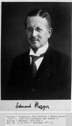 Edmund Mezger (15 de octubre de 1883 —  24 de marzo de 1962), jurista alemán.