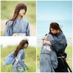 I will go down with this ship!! Kenshin Himura and Kaoru Kamiya #Kenkao