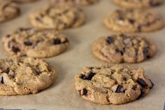 These Chewy Vegan Chocolate Chip Cookies are no nonsense soft, chewy chocolate chip cookies like your vegan grandma used to make. Also great for ice cream sandwiches! Vegan Chocolate Chip Cookie Recipe, Butter Chocolate Chip Cookies, Chocolate Chips, Maple Cookies, Coconut Chocolate, Vegan Brownie, Organic Chocolate, Raisin Cookies, Chocolate Hazelnut
