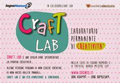 madebyeleonora: CRAFT LAB - Laboratorio permanente di Creatività