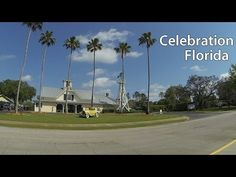 (3) Celebration Florida Virtual Run, The Community Disney Built - YouTube