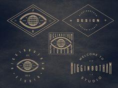 Rebrand 1 designed by Jay Higginbotham. Connect with them on Dribbble; Vintage Graphic Design, Graphic Design Typography, Graphic Art, Logo Branding, Logos, Snowboard Design, Logo Design Inspiration, Daily Inspiration, Vintage Stamps