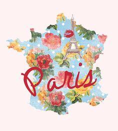 I Love #Paris via Etsy