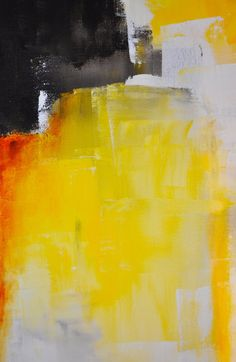 Triumph 30 x 24 Abstract Acrylic Painting by CharlensAbstracts