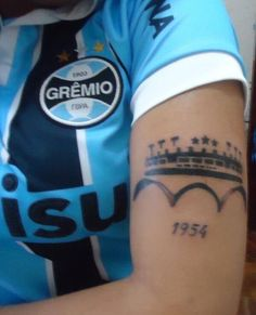 Tatoo do eterno Olímpico !!!