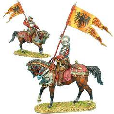 First Legion: REN017 German Landsknecht Holy Roman Empire Standard Bearer #FirstLegion
