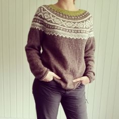 Bilderesultat for marius genser Zentangle Patterns, Get Dressed, Knitting Patterns, Knitting Ideas, Warm And Cozy, Outfit Of The Day, Knit Crochet, Men Sweater, Pullover