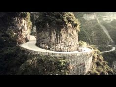 Epic China Red Bull Drift Challenge Pits Lexus SC Against Toyota Supra Red Bull Drivers, Dangerous Roads, Racing Simulator, The End Game, Top Gear, Show Us, Great Videos, Toyota Supra, Hot Cars