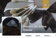 Renda de Bilros na Escola Secundária José Régio de Vila do Conde.  Course offered at the secondary school.  Facebook page at https://www.facebook.com/rendasdebilros.escola