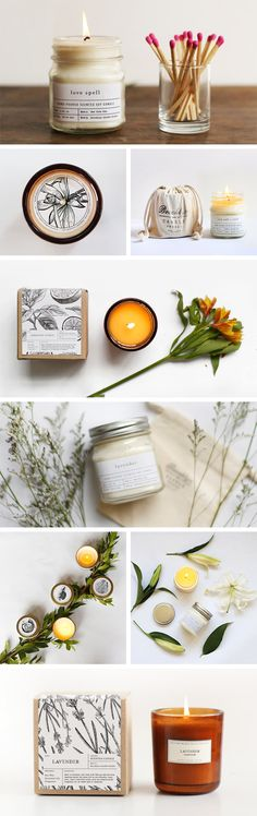 Natural ingredients; natural packaging; naturally chic. Brooklyn Candle Studio has a variety of products to delight your every customer. #EtsyWholesale #TrendReport