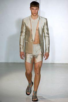 Mugler Spring 2013 Menswear