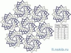 Beaded Napkin | biser.info - all about beads and beaded works