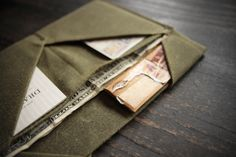 Canvas wallet - Draught Dry Goods