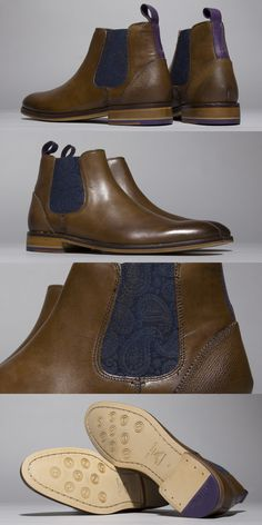 The chelsea boot is always a good option. This brown Ted Baker Camroon 2 boot is no exception.