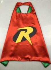 Superheld cape 70cm*70cm kinderen superheld cape- superman spiderman voor kinderen halloween party kostuum voor kinderen gift