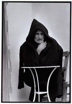 "great greek photogrpaher --has captured the essence of the greek faces--maggie--Constantine ""Costa"" Manos South Carolina): Greece. Man in shepherd's cape. ""A Greek Portfolio"" © Costa Manos/Magnum Photos"