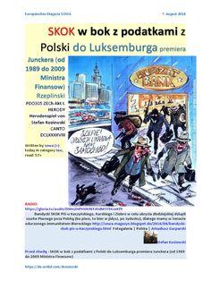 """https://gloria.tv/audio/DMn2HPHXN9EFJDdMSY5KzeKf9  Bandycki SKOK PiS-u Kaczyńskiego, Kurskiego i Ziobro w celu ukrycia złodziejskiej dziupli szurke Piwnego poza Polską (bo piwo, to bier w jidysz, po żydosku), dlatego mamy w Senacie odurzonego immunitetem Biereckiego http://sowa-magazyn.blogspot.de/2016/08/bandycki-skok-pis-u-kaczynskiego.html """"wymyślona"""" afera SKOK   https://plus.google.com/u/0/116748846165184263175/posts/8moU9UL7mF7"""