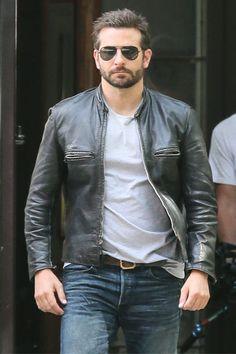 Bradley Cooper Looks Awesome On The Set Of 'Adam Jones'