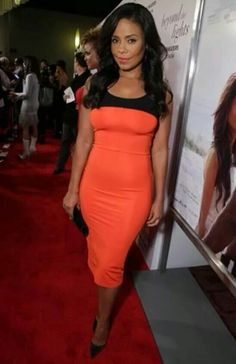 Sanaa Lathan in Tanya Taylor dress at premiere. Beautiful Black Women, Beautiful People, Sanaa Lathan, African Models, Black Goddess, Red Carpet Looks, Cute Woman, Swagg, Love Fashion