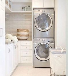 """Visit our web site for even more details on """"laundry room storage diy budget"""". It is an excellent spot to learn more. Laundry Room Remodel, Basement Laundry, Laundry Closet, Small Laundry Rooms, Laundry Room Organization, Laundry Room Design, Storage Organization, Storage Ideas, Small Utility Room"""