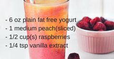 Healthy Smoothie Recipes: Low Fat Smoothies For Weight Loss