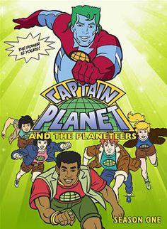 De Volta Aos Anos 80 e 90 : Capitão Planeta - 1ª, 2ª e 3ª Temporada Completa -...