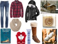 """weekend up north"" by chrissymango ❤ liked on Polyvore"