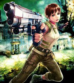 www.pcgames42.com Resident Evil Video Game, Resident Evil Girl, Female Characters, Anime Characters, Rebecca Chambers, Ecchi Neko, Fictional Heroes, Evil Art, Mileena