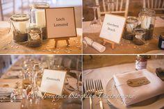 Table settings - barn wedding - Wedderburn Barns