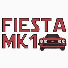 Retro Mk1 Fiesta Classic Car Men's T-shirt