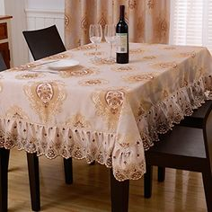 WFLJL European Style Tablecloth Cotton decoration kitchen Coffee Table Dining Table Cover cloth 90X140cm