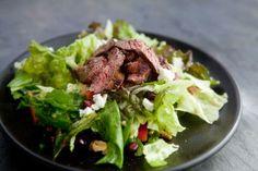 Steak Salad (minus the goat cheese)