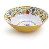 Tuscan Floral Melamine Serving Bowl from Sur la Table