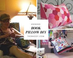 How To Make A Book Pillow For Bed