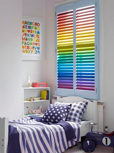 Window Shutters: The Perfect Addition To A Child's Nursery or Bedroom ♥