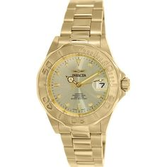 Invicta Men's Men Automatic Pro Diver G2 9010 Gold Stainless-Steel Automatic Watch