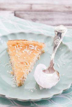 Superleckerer und saftiger Low Carb Kuchen mit Kokosöl und Eiweißmehl | http://www.backenmachtgluecklich.de