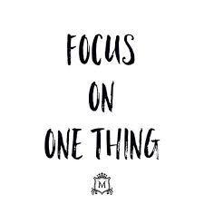 ผลการค้นหารูปภาพสำหรับ focus a thing you have