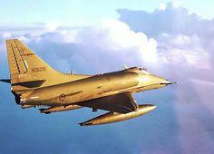 RNZAF A4K Skyhawk Military Jets, Military Aircraft, Mcdonald Douglas, Aircraft Photos, Jet Engine, Airplanes, A4, Air Force, Fighter Jets