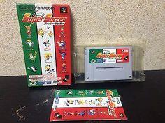 J League Super Soccer Super Famicom Japan NTSC-J boxed set Nintendo