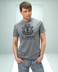 Element T-skjorte (Grey) - Smartguy.no - $180nok