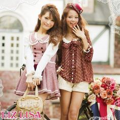 Hey guys! I want to tell you about this AWESOME new clothing brand! It's a Japanese brand called Liz Lisa. They sell sweet, cute, and girly clothes with a lot of ruffles and lace! They're website i...