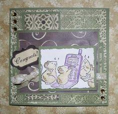 Nicolettes PapirBlog: Fødselsdagskort