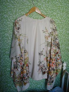 ♥ Madame Turbante - All things retro, Makeup Artist and Turban Lady ♥: Tutorial: Como fazer um Kimono simples / How to sew a simple Kimono