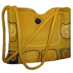 Shoulder bag Another bag from felt shop international. Beautiful stuff . Some sold on Etsy!