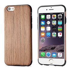 From 7.99 Iphone 6s Plus Case Iphone 6 Plus Case Belk [soft Wood Case] Ultra Hybrid Rubber Bumper Case Reinforced Slim Tpu Back Cover For Iphone 6 Plus & Iphone 6s Plus(5.5 Inch) - Cherry