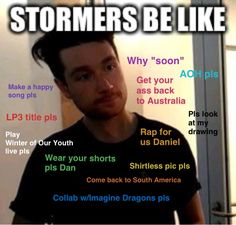 Is this not all of us? >>> I saved for the Imagine Dragons one...