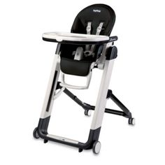 Peg Perego® Siesta High Chair in Licorice - buybuyBaby.com
