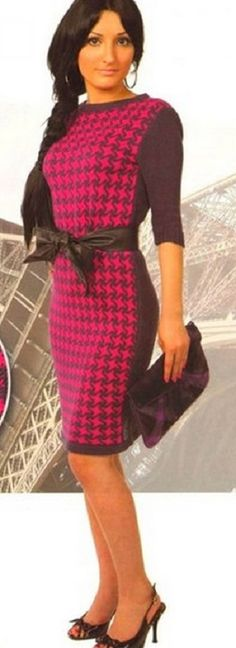 Платье Париж спицами http://clubmasteric.ru/shemi-vasanie-spicami/platija-spizami/1508-platie-parig-spicami.html